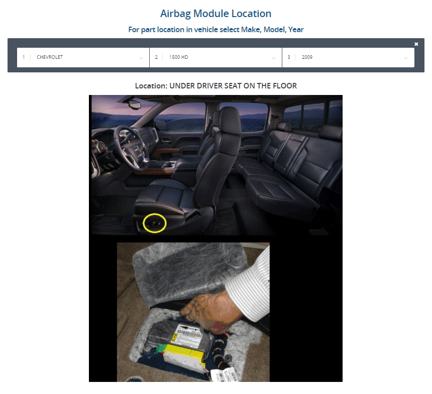 Where is the airbag module located? – MyAirbags