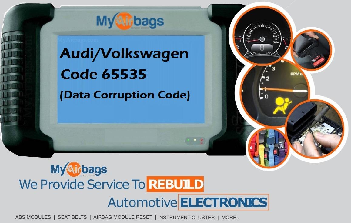 Error Code 65535 on Audi or Volkswagen – MyAirbags